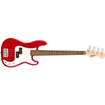Squier Mini Precision Bass, Laurel Fingerboard, Dakota Red