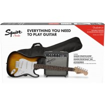 Squier Stratocaster Pack - Brown Sunburst - El.gitarpakke