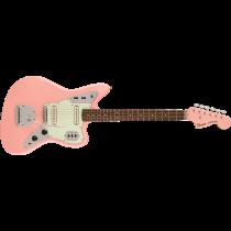 Squier FSR Classic Vibe '60s Jaguar, Laurel Fingerboard, Mint Pickguard, Matching Headstock, Shell Pink
