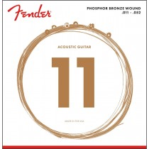 Fender 60CL Phosphor Bronze Acoustic Guitar Strings .011-.052
