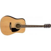 Fender FA-115 Dreadnought Pack V2, Natur - Akustisk gitarpakke