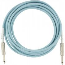 Fender Original Series Instrument Cables - Daphne Blue - 3m