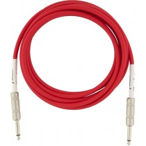 Fender Original Series Instrument Cables - Fiesta Red - 3m