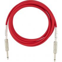 Fender Original Series Instrument Cables - Fiesta Red - 3m