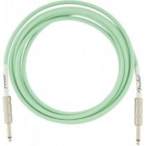 Fender Original Series Instrument Cables - Surf Green - 3m