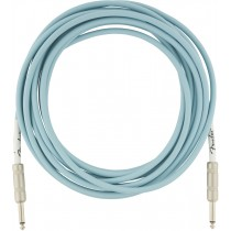 Fender Original Series Instrument Cables - Daphne Blue - 5,5m