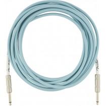 Fender Original Series Instrument Cables - Daphne Blue - 5,5m