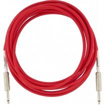 Fender Original Series Instrument Cables - Fiesta Red - 5,5m