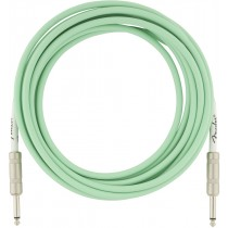 Fender Original Series Instrument Cables - Surf Green - 5,5m