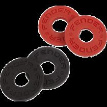 Fender Strap Blocks - Black / Red