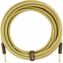Fender Deluxe Series Instrument Cable, Tweed - 10ft / 3m