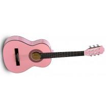 Cataluna SGN-C61 PK - Juniorgitar Nylon 3/4-Størrelse, Rosa