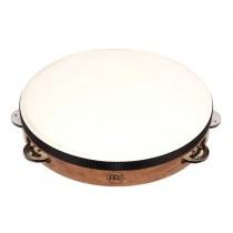 Meinl TAH-1-WB Wood Tamburin m/skinn, Enkel (G)
