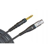 Planet Waves PW-GM-25 - Mikrofonkabel - balansert jack til hun-XLR 7,5m - TILBUD!