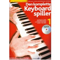 Den komplette keyboard spiller 1 Rev. m/CD *