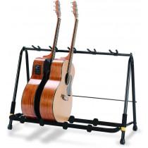 Hercules GS525B - Rackstativ til 5 stk akustisk-, bass eller el-gitarer