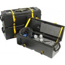 Hardcase HNMIC12 - Kasse for 12 mikrofoner og kabler.