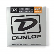 Dunlop DBSBN40120 - Super Bright Elbasstrenger 40-120 5-strengs