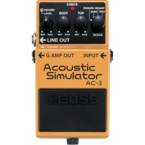 Boss AC-3 - Acoustic Simulator Pedal