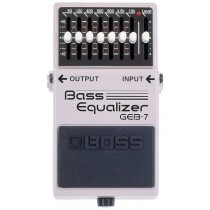 BOSS GEB-7 Bass Equalizer - EQ for bassgitar