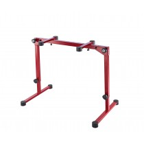 K&M 18820 Table style keyboard stand - Ruby Red