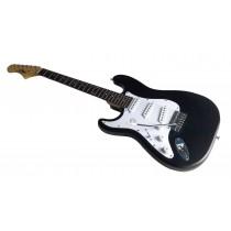 Eagle AE10 SSS - Venstrehendt elektrisk gitar - Matt sort