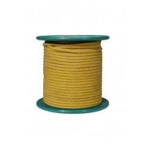 Boston VCC-18R-YE  cloth covered wire, gul, pris pr. halvmeter