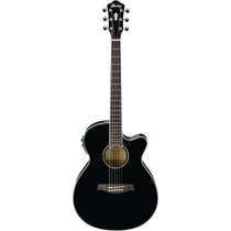Ibanez AEG10 II BK - Akgitar, Sort