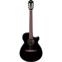 Ibanez AEG50N-BKH nylonstrengsgitar m/elektronikk