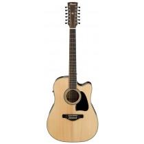 Ibanez AW7012CE-NT - 12-strengers akustisk gitar