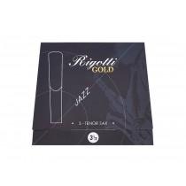 Rigotti Gold RGT35/3 - Tenor saxophone reeds, 3-pack, 3.5