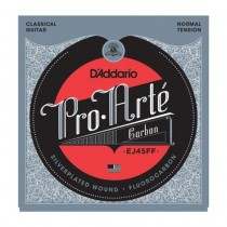 D'Addario EJ45FF Pro Arte` Carbon - Normal Tension nylonstrenger