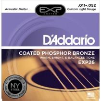 D'Addario EXP26 Phos.Bronze. Coated (011-052) (10)