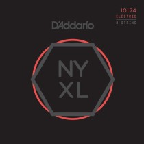 D'addario NYXL1074 - .010-.074 strenger til 8-strengs el.gitar
