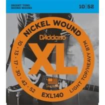 D'Addario EXL140 - Light Top/Heavy Bottom  - 10-52