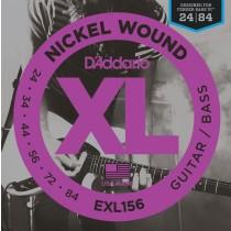 D'Addario EXL156 - Strengesett til Fender/Squier Bass VI