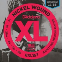 D'addario EXL157 - .014 strenger til bariton gitar