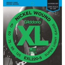 D'addario EXL220-5 basstrenger