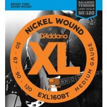 D'Addario EXL160BT - Basstrenger .050-.120