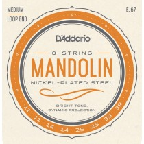 D'addario EJ67 Medium Mandolin .011-.039