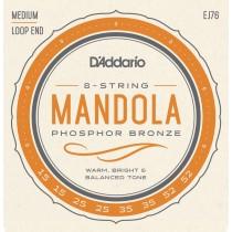 D'Addario EJ76 - Mandola Strenger, Medium