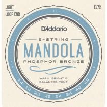 D'Addario EJ72 - Mandola Strenger, Light