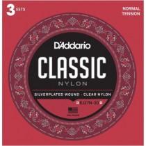D'Addario Fretted EJ27N-3D Normal (3-pack)