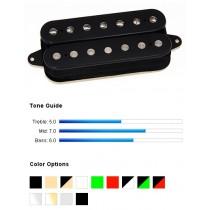DiMarzio Illuminator 7 Neck DP756BK - Neck humbucker for 7-strengs el.gitar - Sort