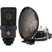 Neumann TLM 103 Studio kit - Bundle med mikrofon, Rycote oppheng og popfilter - Sort