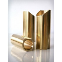 The Rock Slide polished brass slide size M (inside 19.5 - length 57.5mm)