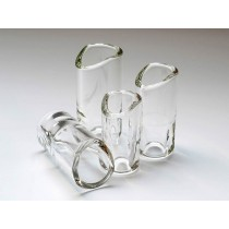 The Rock Slide GRS-LC - Moulded glass slide size L (inside 21.0 - length 63.0mm)