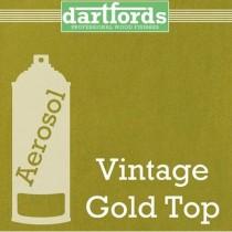 Dartfords FS5264 Metallic Nitrocellulose Paint - Vintage Gold Top