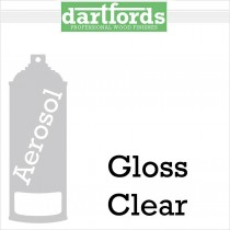 Dartfords Nitrocellulose Lacquer Gloss Clear - 400ml aerosol