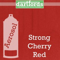 Dartfords FS5061 Pigmented Nitrocellulose Lacquer - Strong Cherry Red